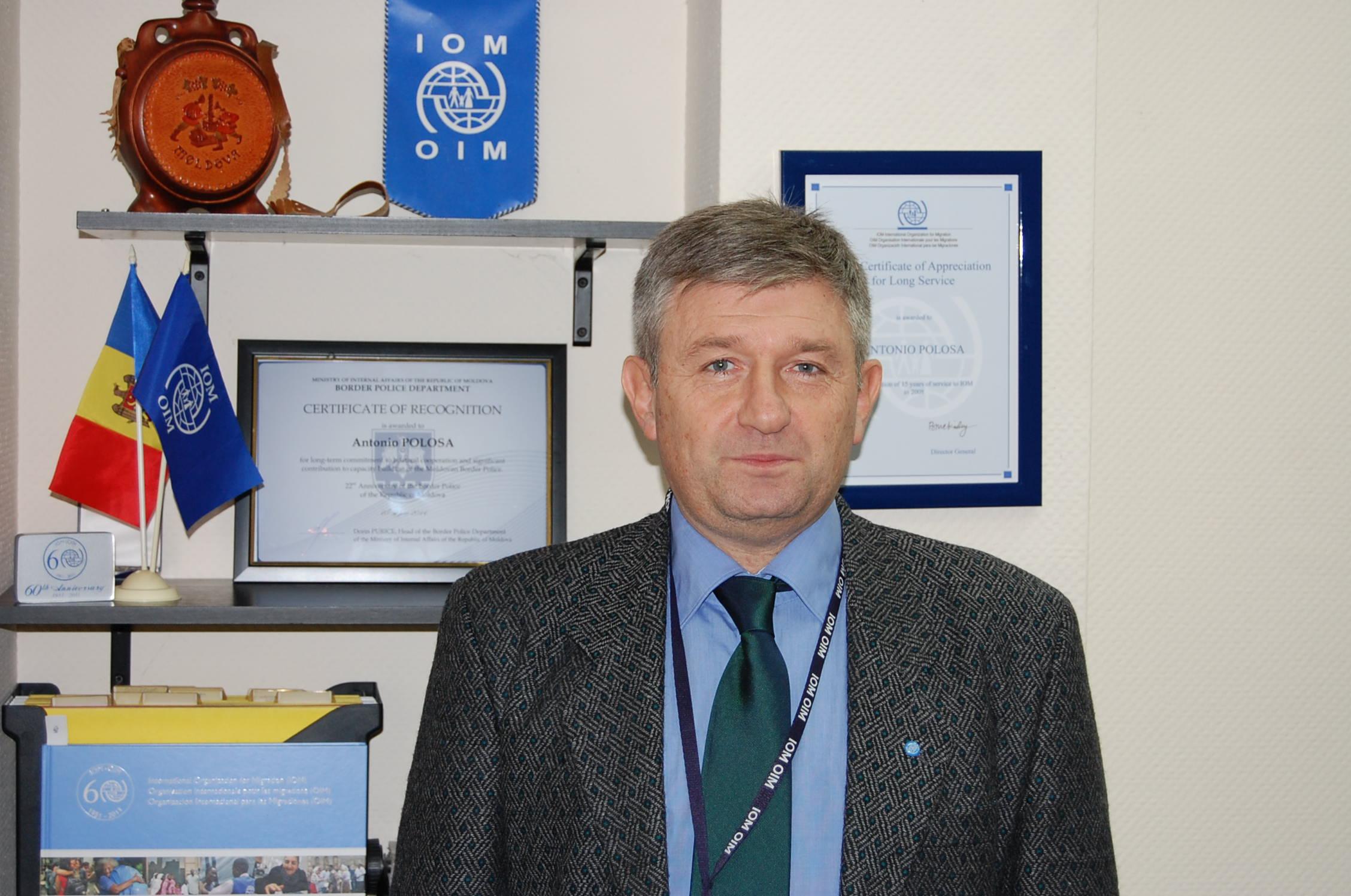 Intervista ad Antonio Polosa (IOM Moldova)