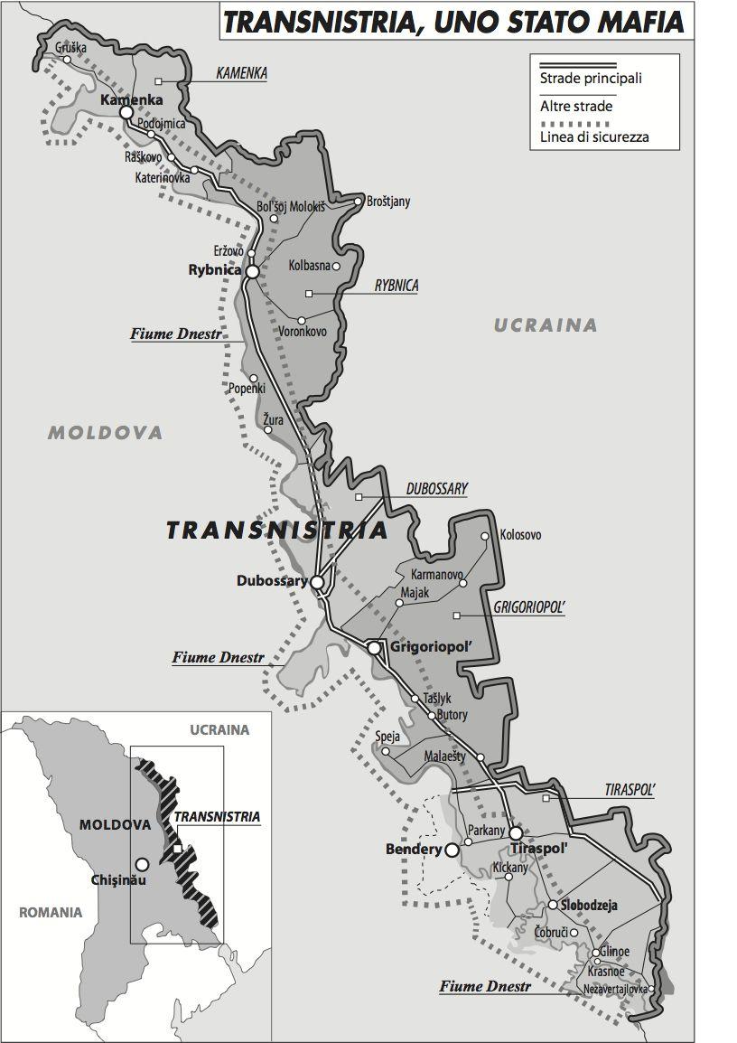 Transnistria, stato mafia (Francesca La Barbera)