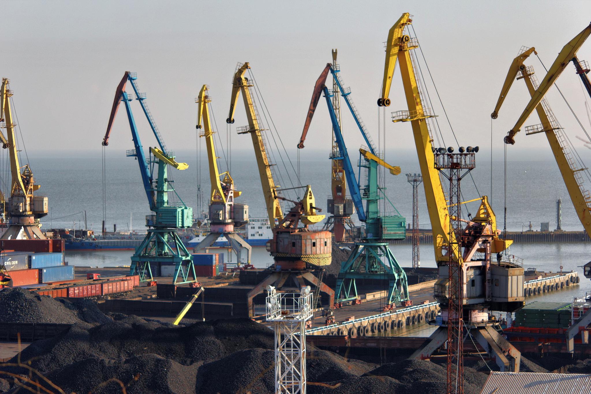 Mariupol, città strategica sul Mar d'Azov