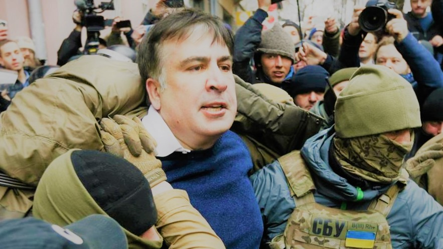 Saakashvili contro Poroshenko