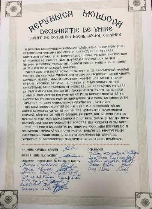 In Moldova si moltiplicano le dichiarazioni di Unione con la Romania