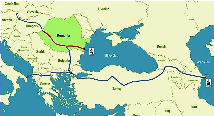Gas per la Romania