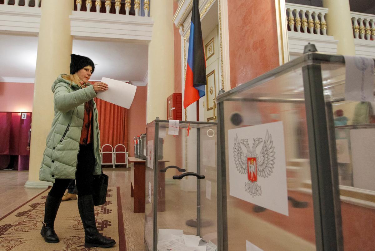 Elezioni in Donbas