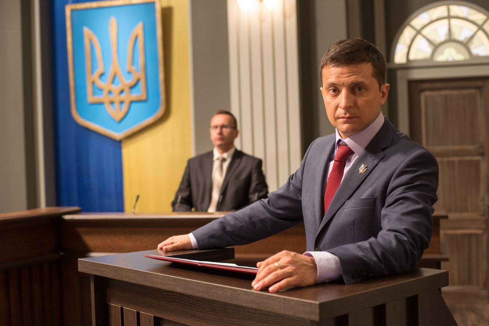 Il comico a capo dell'Ucraina