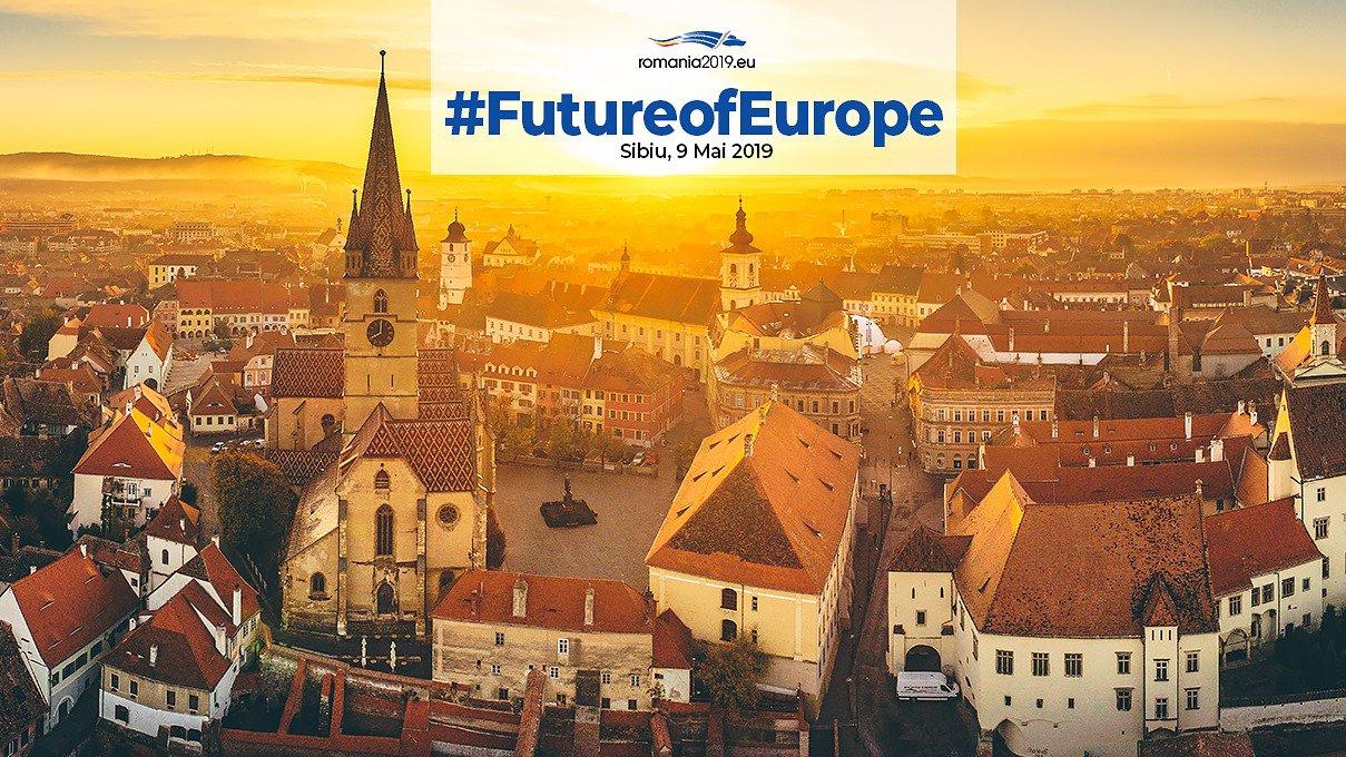 Vertice UE a Sibiu