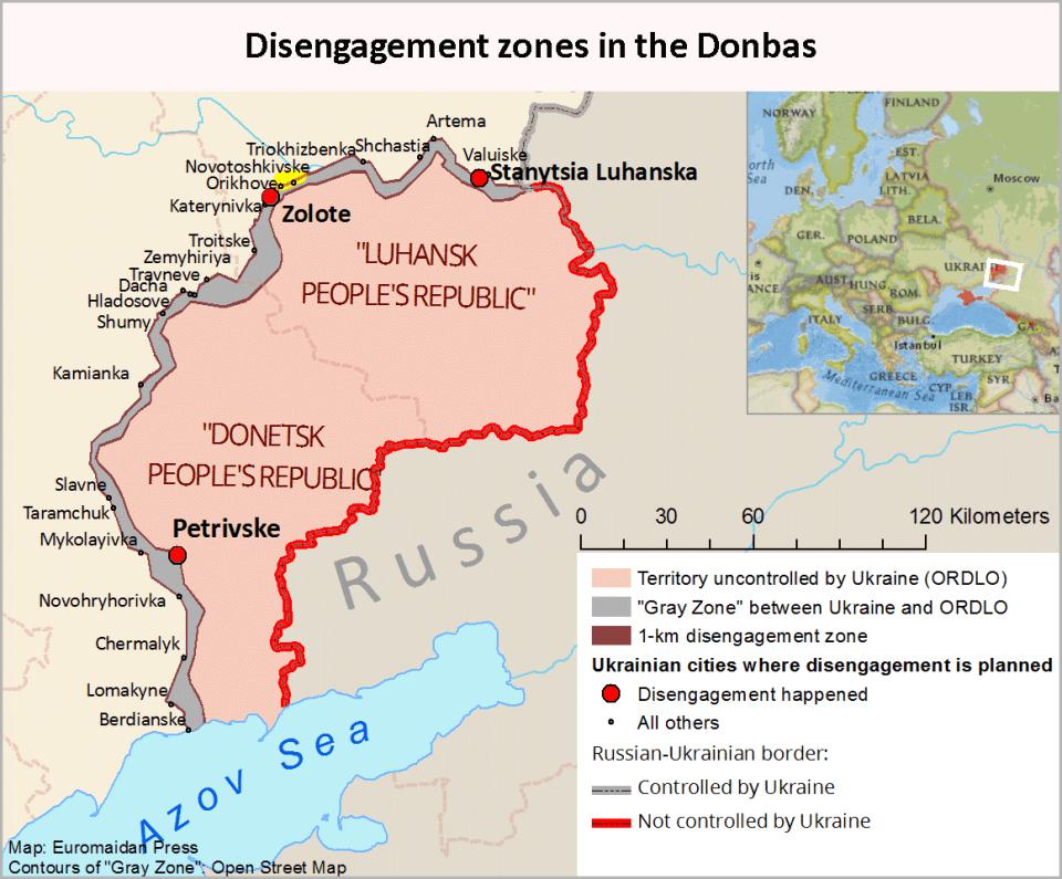 Il fronte dell'Ucraina 🇺🇦🇷🇺