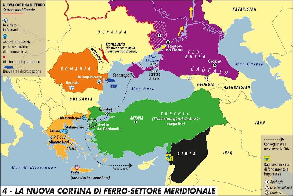 🌊🇹🇷 La partita dei mari interni della Turchia