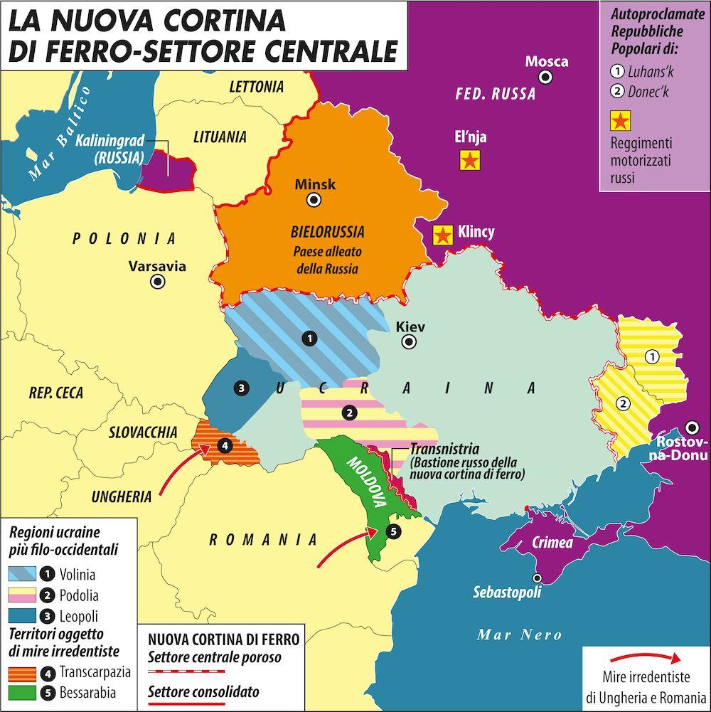 🇺🇦🇷🇺 Perché la Russia potrebbe invadere l'Ucraina